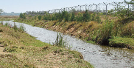 natural drainage
