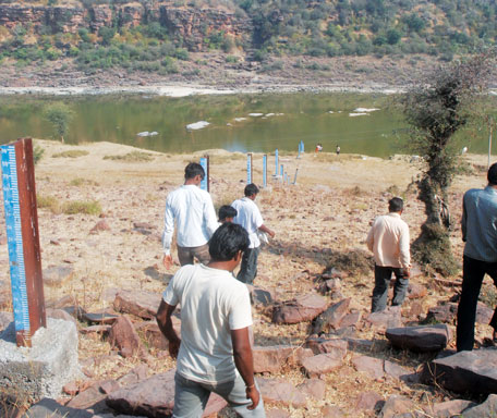 Government says the proposed dam is 150 metres upstream of a wildlife sanctuary, while residents say the project falls inside it