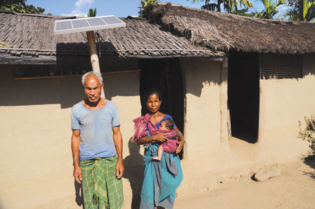 The electrification programme was started in Assam in 2005. It has been implemented in 1,766 villages of the targeted 4,000