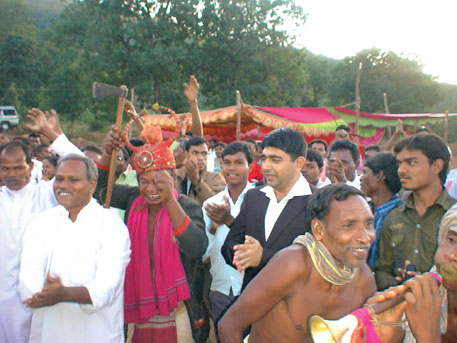 People of Loyendi rejoice after the village in Odisha received community rights over customary forests