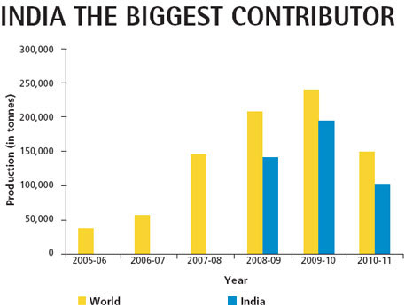 India the biggest contributor