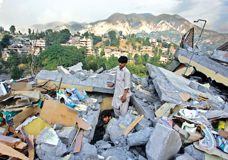 The 2005 earthquake in Kashmir that killed over 87,000 people was caused by the same tectonic movement that triggered the Nepal quake