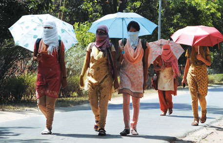 South Asia headed for longer heat waves, warm spells