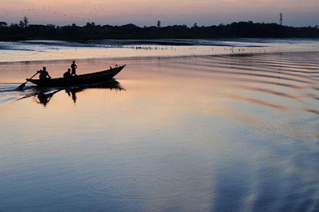 The beauty of Sundarbans contrasts sharply with the islanders' struggle to survive