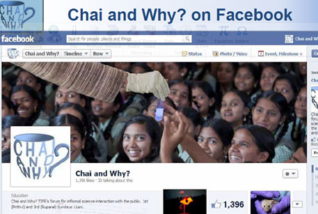 The Facebook page of Chai and Why