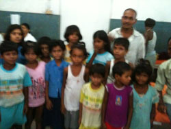 Nine children of Surendra Prasad's family were admitted to PMCH after midday meal poisoning. Prasad's daughter died in Chapra