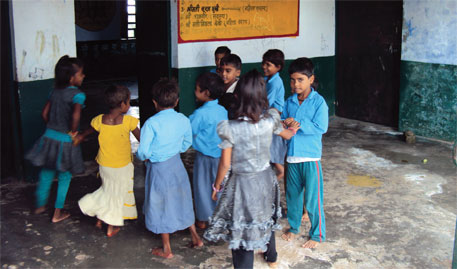 Himmatpura primary school is supervised by school management committee