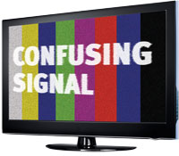 Confusing signal