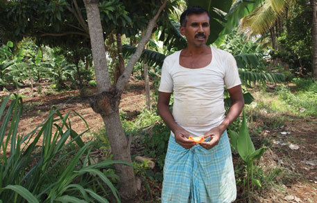 Hanumantha Raja of Kempalingahalli village in Karnataka switched to organic farming 10 years years ago. Since then he has mobilised about 65 farmers to turn to organic