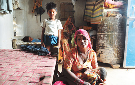 Jaishu Devi, 23, of Jhajju village in Kolayat was operated four years ago. She has given birth to two children after that