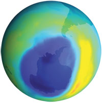 Banned chemical still depleting the ozone, says NASA