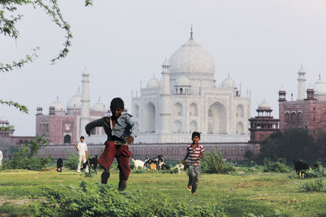 Every year Taj Mahal receives double the number of tourists than the Vatican City