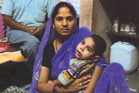 Reena Yadav's son developed mental illness after he was made to participate in a drug trial in Indore, Madhya Pradesh