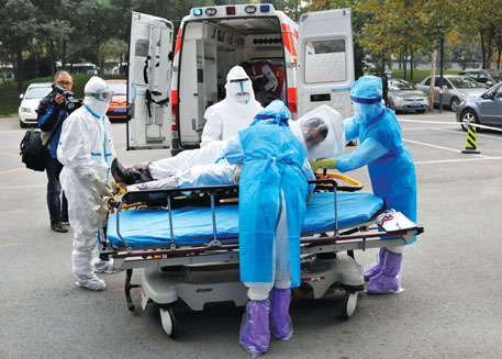Over 36,000 screened for Ebola in India
