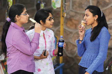 The youth in urban India are vulnerable to junk food and consume high amount of sugar in the form of soft drinks and fast food