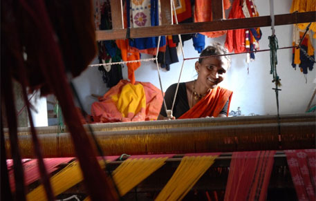 Distressed handloom weavers seek bailout