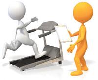 Treadmill can't beat blues