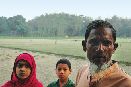 A happy Mohammad Abed Ali says he now grows four crops a year