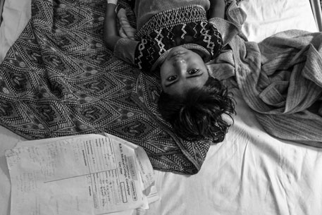 Children from poor socio-economic background easily fall prey to the disease as they are usually chronically malnourished and have low immunity