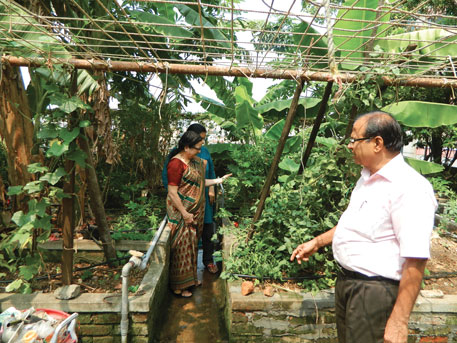 A R S Vadhyar, a civil engineer, and his wife, Jayashree, a retired professor from Kerala Agricultural University, have been doing rooftop farming for 15 years in Ernakulam