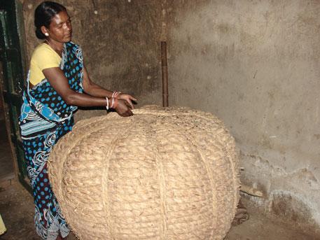 Bundled in a sacred basket