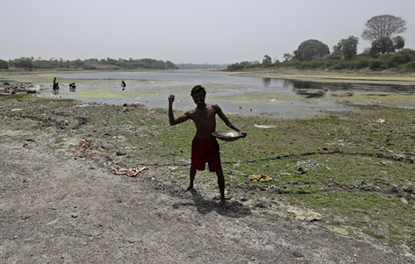 Farmers living downstream of the Jayakwadi dam on Godavari river have been protesting against the dam, alleging that they have not received any benefits of the project
