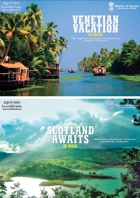 Wildlife and forests are the highlights of 50 of the 240 tourist destinations advertised on the Incredible India website