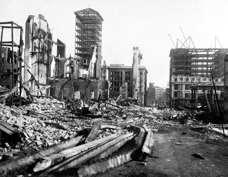San Francisco used to be the richest and most important city on the US' Pacific coast. But the 1906 earthquake changed that