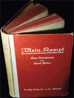 Mein Kampf, with disclaimer