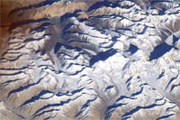 The mountain, claimed by NASA to be Everest, is actually Saser Muztagh in the Karakoram Range of Kashmir