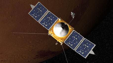 NASA's Maven reaches Mars