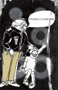 Musicians don't age