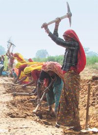 How women seized NREGA