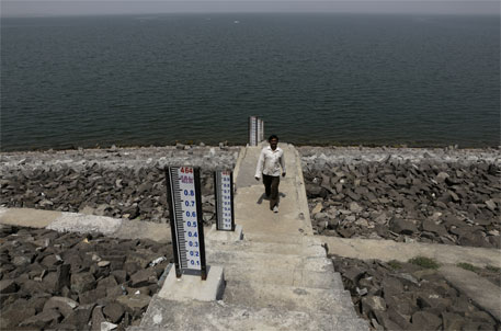 In the first week of April this year, Jayakwadi dam had only 12 per cent of its live storage capacity, enough to meet the water requirements of main cities and industrial areas