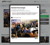 Getty has allowed over 35 million images to be used for free