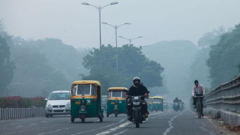 Of the 20 most polluted cities in the world, 13 are in India, says the WHO database and Delhi is among the most polluted cities of the world (Photo by Chinky Shukla)