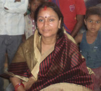 Annu Shukla, wife of Vijay Kumar alias Munna Shukla who is in jail, is contesting as independent candidate from Vaishali