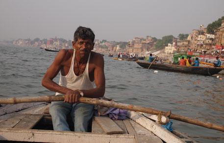 Boatman Kedarnath Nishad