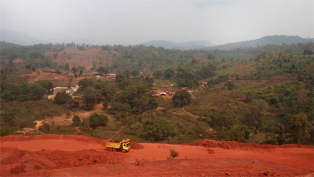 Illegal mining's ground zero