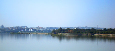 Hyderabad's Hussain Sagar lake (now in Telangana) is one of the 25 most polluted water bodies in the region, according to the report (Photo courtesy: Wikipedia)