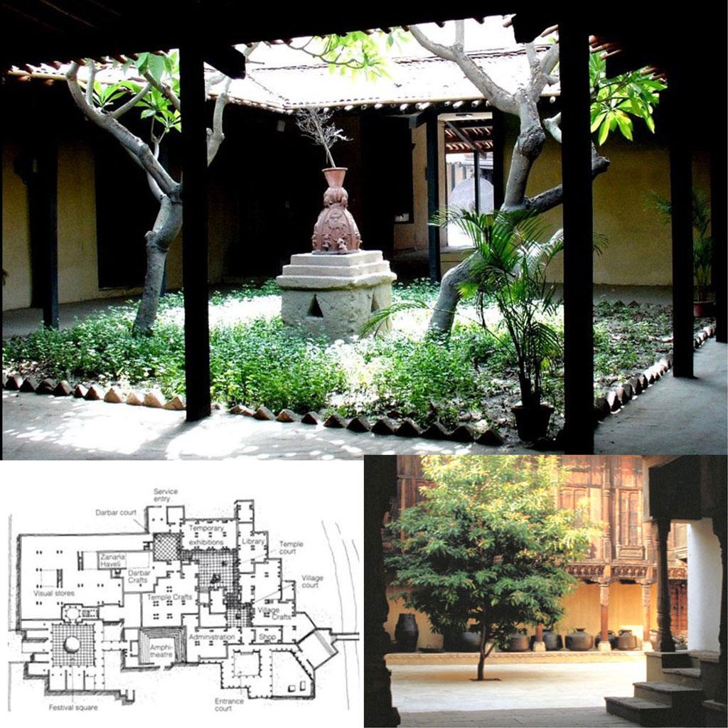 Charles Correa Crafts Museum