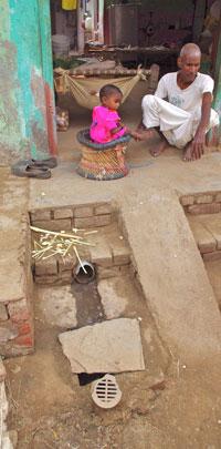 Soak pit revolution: two villages in Mewat treat their own wastewater