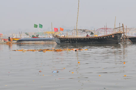 Ganga returns to its sluggish, dirty state