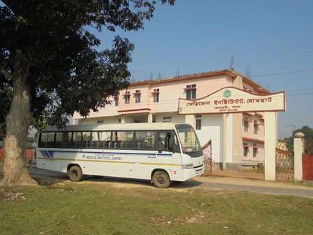 Medical Institute of Jorhat that runs diploma course in rural health care is still operating