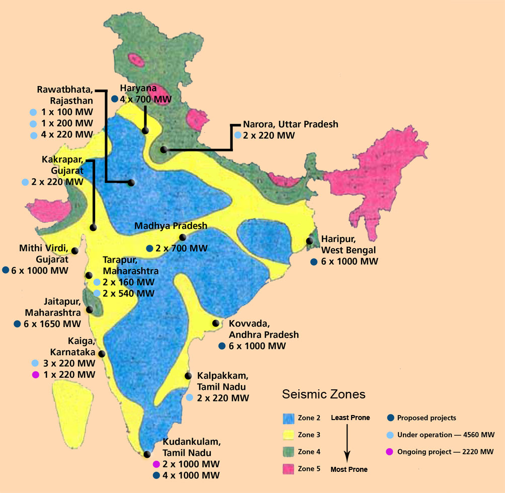 Hydroelectric power plant in india map