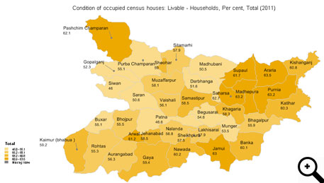 Bihar's earthquake toll due to poor condition of houses