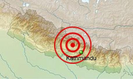 Fresh tremors shake Nepal, India