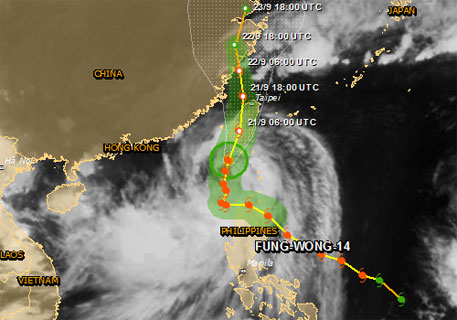 Tropical storm, Fung-Wong, leaves 200,000 displaced in the Philippines