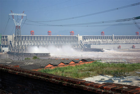 Landslide destroys hydropower plant in China's Three Gorges Dam