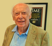 James Watson received the Nobel Prize in 1962 (Photo by Steve Jurvetson | Flickr)